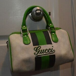 Authetic Gucci Green Bag